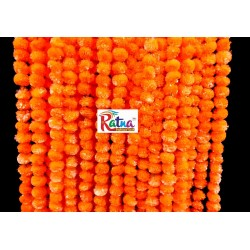 Dark Orange Marigold Flower Garland